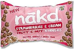 Nakd Strawberries and Cream Fruit & Nut Nibbles 40g x18
