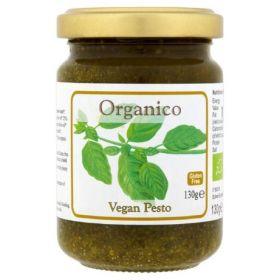 Organico Organic Vegan Pesto 130g x12