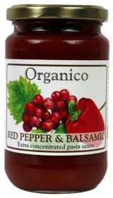 Organico Red Pepper & Balsamic Sauce 360g x6