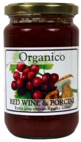 Organico Red Wine & Porcini Sauce 360g x6