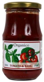 Organico Tuscan Tomato & Basil Sauce from Tuscany 340g x6