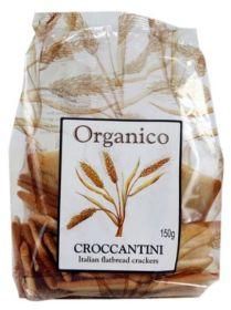 Organico Organic Croccantini Classic Crackers 150g x10