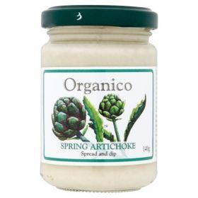 Organico Organic Spring Artichoke Spread & Dip 140g x6