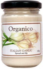 Organico Organic Italian Garlic Spread & Dip 140g x6
