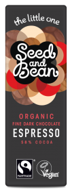Organic Seed & Bean Dark Expresso Faitrade & Organic 25g x30