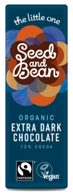 Organic Seed & Bean Dark Fairtrade and Organic Chocolate 25g x30