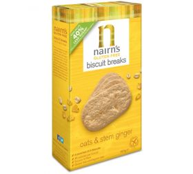 Nairn's Oats & Stem Ginger Biscuit breaks 7 x 160g