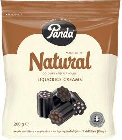 Panda Natural Liquorice Creams 200g x12