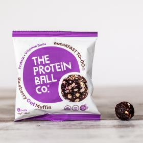 Blueberry Oat Muffin Plant Protein & Vitamin Balls 10 x 45g