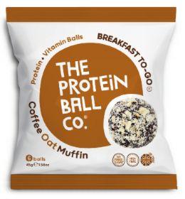 Coffee Oat Muffin Plant Protein & Vitamin Balls 10 x 45g