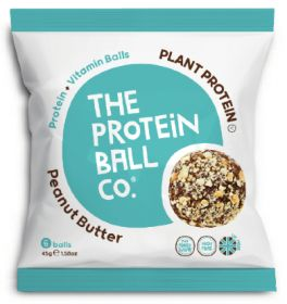 Protein Ball Co. Plant Protein Peanut Butter 45g x10