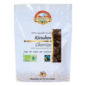 Pearls of Samarkand Fairtrade and Organic Cherries Unsweetened 100g x7