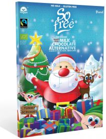 So Free Milk Chocolate Alternative Advent Calendar 110g x6