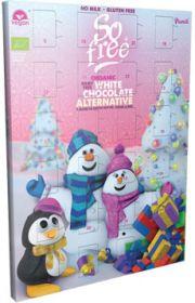 So Free White Chocolate Alternative Organic Advent Calendar 100g x6