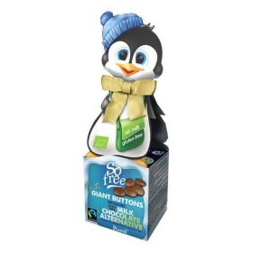 So Free Organic Fairtrade Bowtie Penguin 55g x8