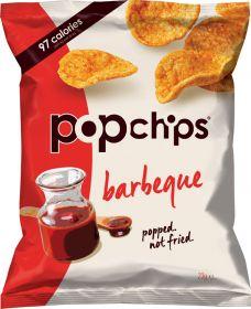 Popchips Barbeque Popped Potato Crisps 23g x24