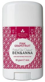 Pink Grapefruit Natural Soda Deodorant