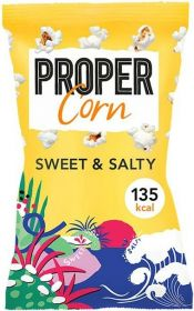 Propercorn Sweet and Salty Popcorn 30g x24