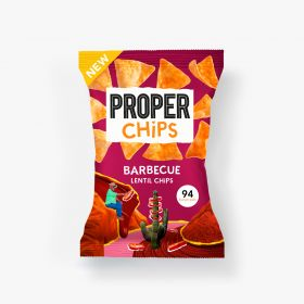 Properchips Barbecue Lentil Chips 20g x24