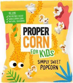 Propercorn Simply Sweet Kids Popcorn 12g x18