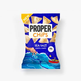 Properchips Sea Salt Lentil Chips 20g x24
