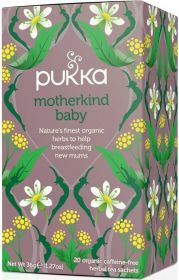 Pukka Organic Motherkind Baby Teabags 36g (20's) x4