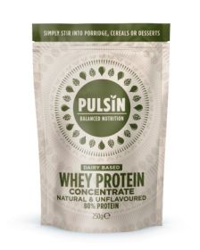 Pulsin whey protein concentrate 6x250g