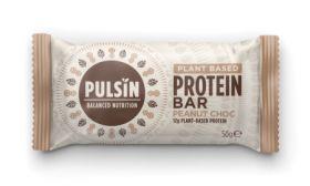 Pulsin Peanut choc protein bar 18 x 50g