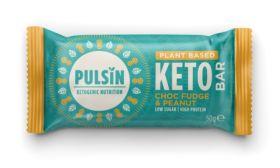 Pulsin Choc Fudge & Peanut Keto Bar 18x50g