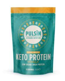 Pulsin Vanilla Keto Powder 6x252g