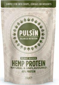 Pulsin Hemp Protein Powder 6x250g