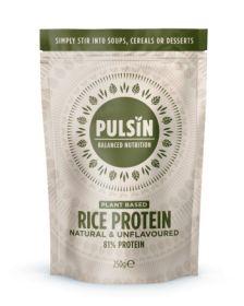 Pulsin Rice Protein Powder 6x250g