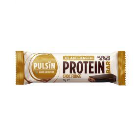 Pulsin enrobed Protein Bar - Choc Fudge 12x57g