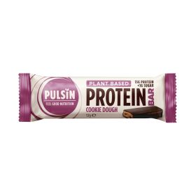 Pulsin enrobed Protein Bar - Cookie Dough 12x57g