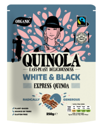 Quinola Organic Express White and Black Quinoa 250g x6