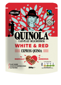 Quinola Organic Express White and Red Quinoa 250g x6