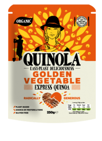 Quinola Organic Express Quinoa & Golden Vegetables 250g x6
