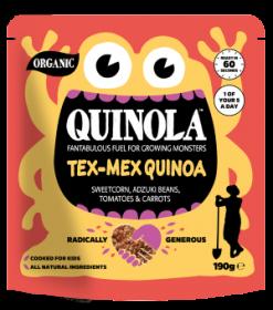 Quinola Organic Tex Mex  Quinoa Kids Meal 190g x6