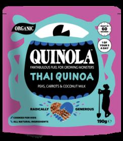 Quinola Organic Thai Quinoa Kids meal 190g x6