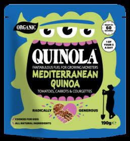 Quinola Organic Mediterranean Quinoa Kids meal 190g x6