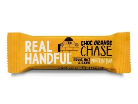 Real Handful Choc Orange Chase Protein Trail Bar 20x40g