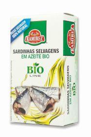 Ramirez-Sardines in organic extra virgin olive oil - 125g x10