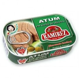 Ramirez-Tuna fillets organic extra virgin olive oil - 120g x10