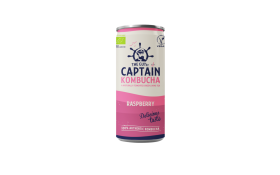 Captain Kombucha Natural Raspberry 250ml x 12
