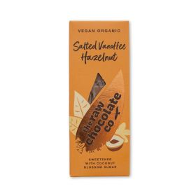Raw Chocolate salted Vanoffee Hazelnut Bar 10x38g