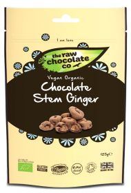 Raw Chocolate Ginger 6x125g Pouches