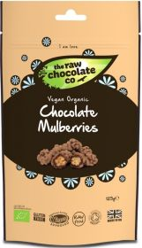 Raw Chocolate Mulberries 6x125g Pouches