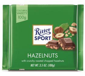 Ritter SPORT Milk Chopped Hazelnut 100g x12