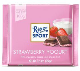Ritter SPORT Strawberry Yogurt 100g x12