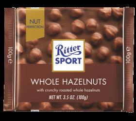 Ritter SPORT Milk Whole Hazelnut 100g x12